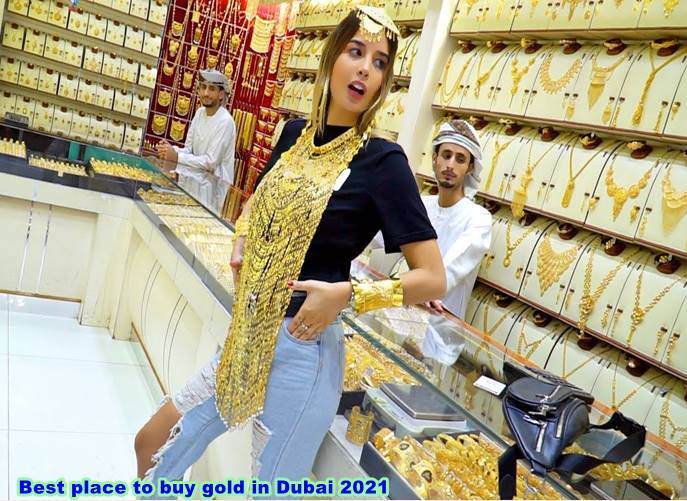 Best place to buy gold in Dubai