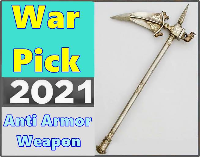 What is a war pick weapon