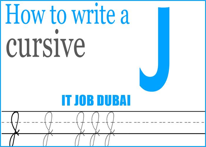 How to make a J in cursive 2021
