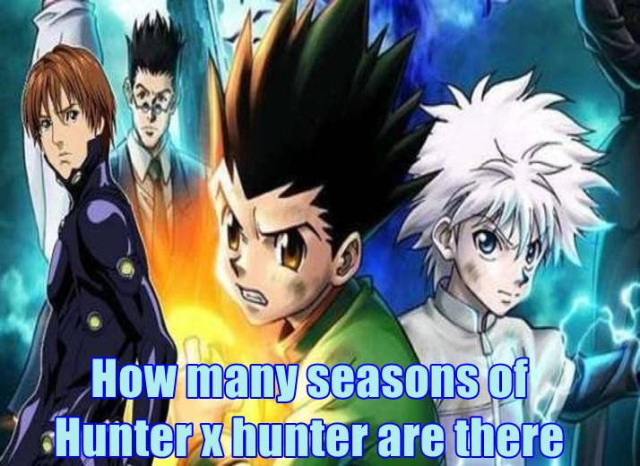 How many seasons of hunter x hunter are there