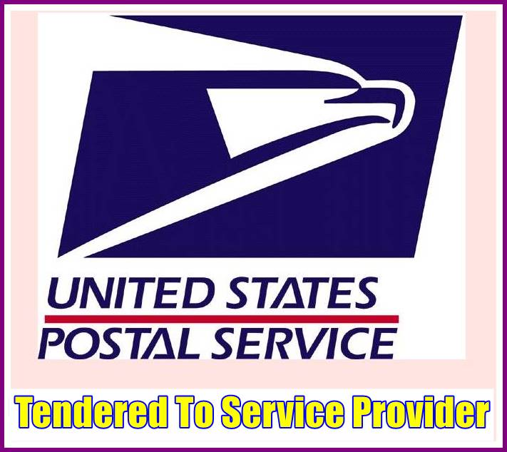 Tendered To Service Provider