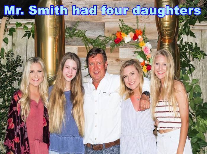 Mr. Smith had four daughters