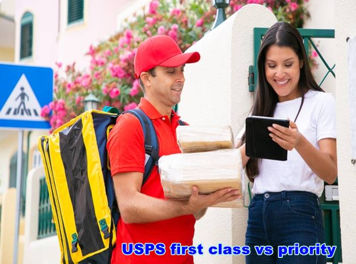 USPS first class vs priority