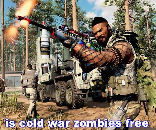 is cold war zombies free