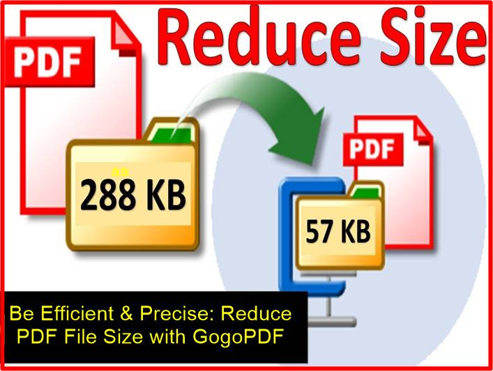 Be Efficient & Precise: Reduce PDF File Size with GogoPDF