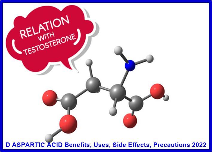 D ASPARTIC ACID Benefits