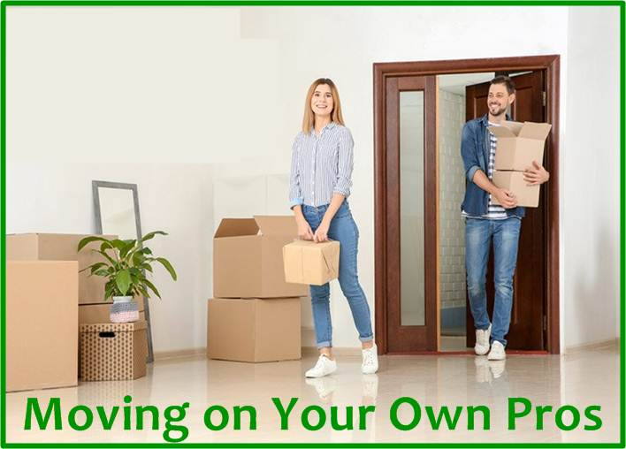 Moving on Your Own: Pros and Cons